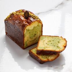 Cake marbré pistache