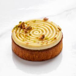 Pistachio tart