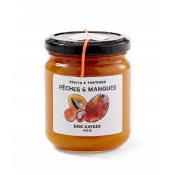 Peach and mango fruit spread
