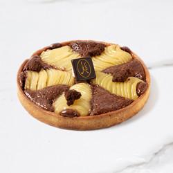 Pear Chocolat Tart