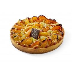 Apricot and pistachio tart