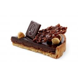 Part de Tarte Chocolat Noisette