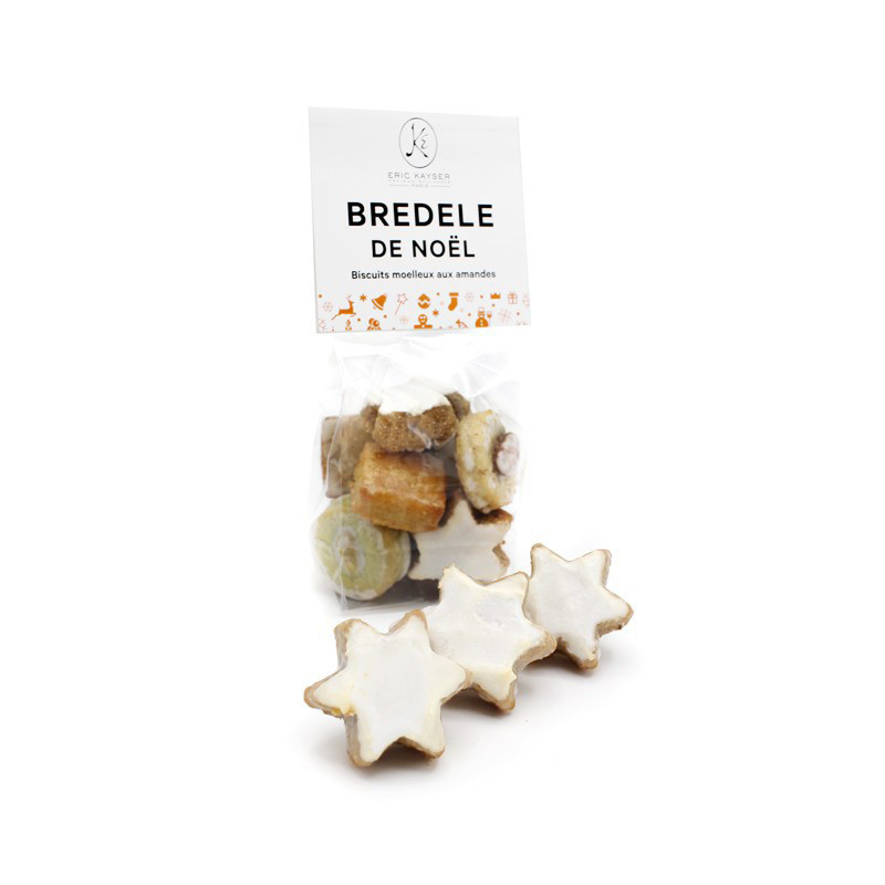 Bredele, biscuits moelleux aux amandes
