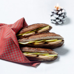 Sandwich Foie gras et Pomme...