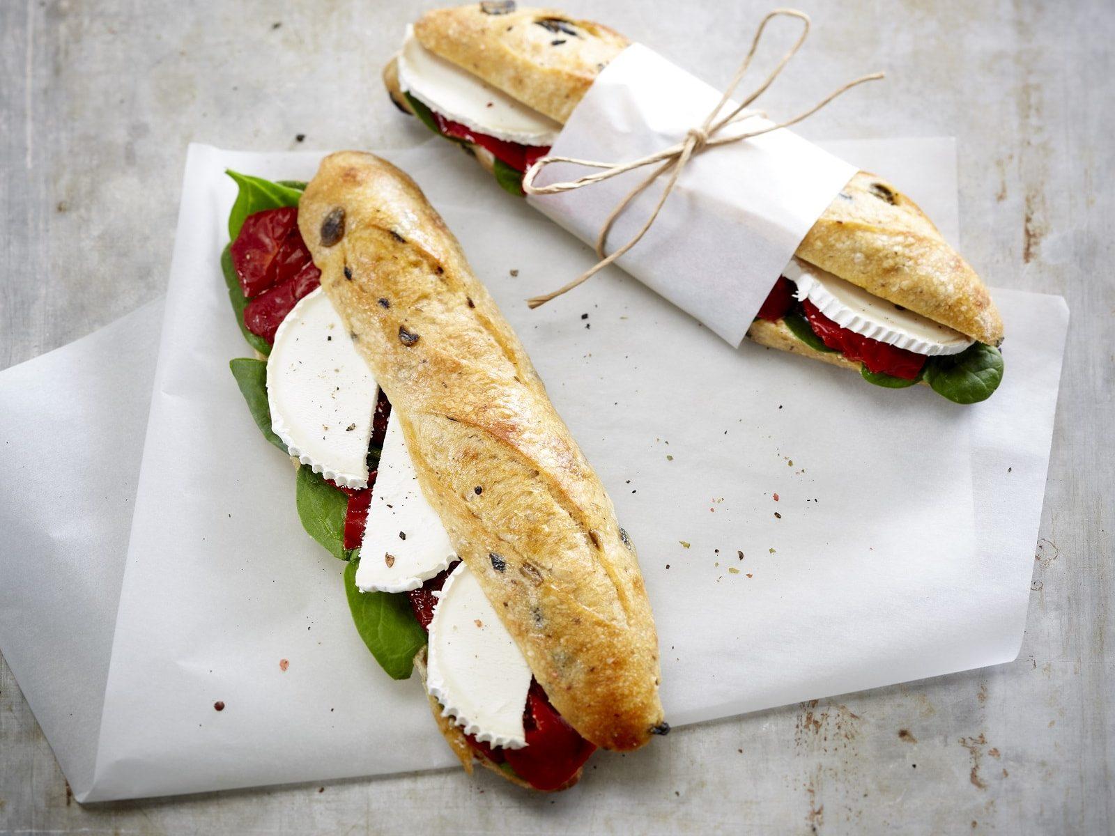 Sandwich baie des anges boulangerie kayser