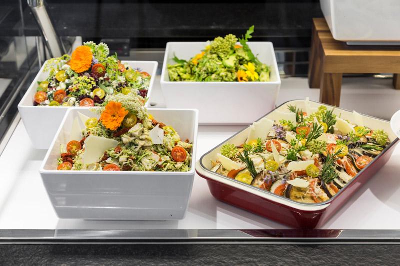 Salade au poids, Boulangerie Eric Kayser Austerlitz