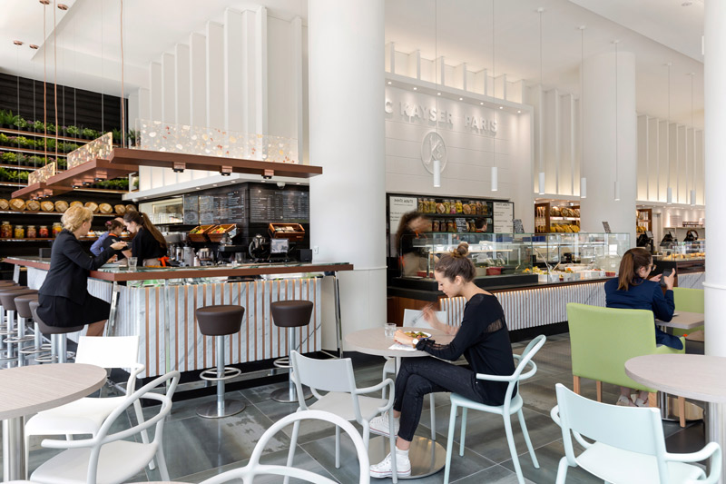 Coin café, Boulangerie Eric Kayser Austerlitz