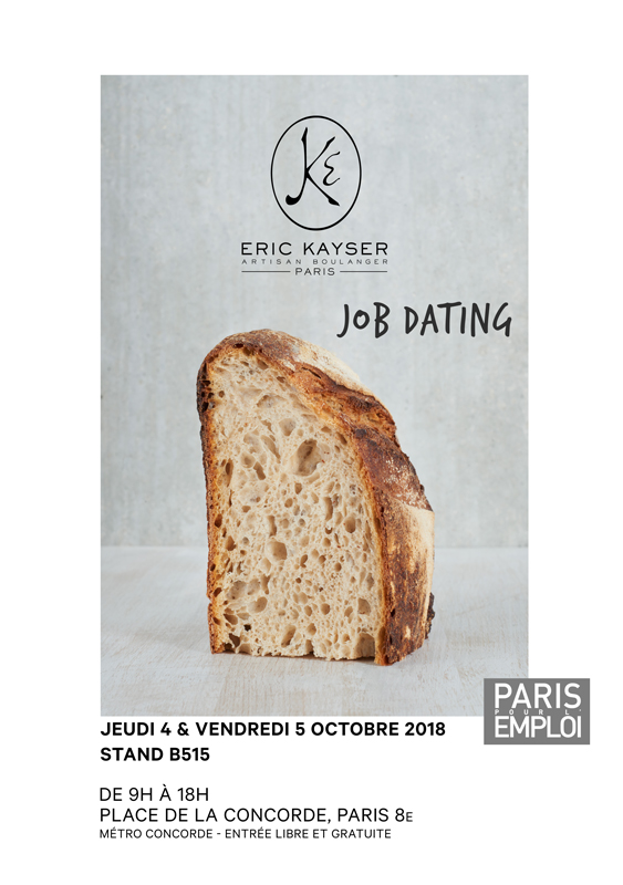 Flyer Job Dating Paris pour l'Emploi
