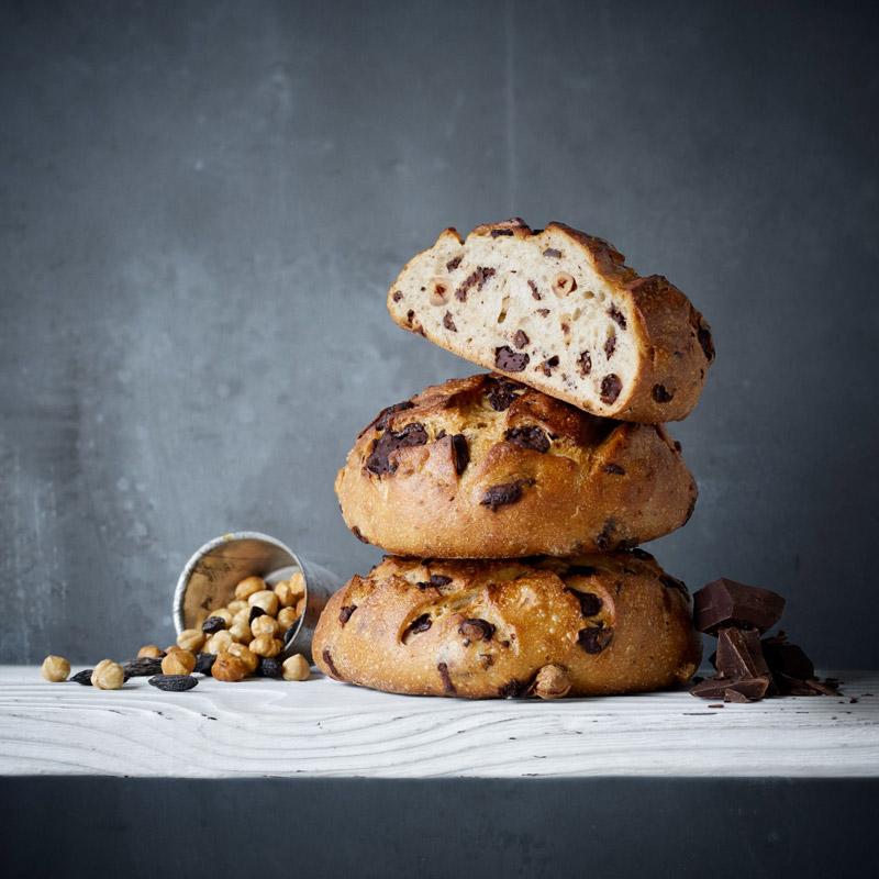Pain Ekmek au chocolat noisettes et fève Tonka par Maison Kayser