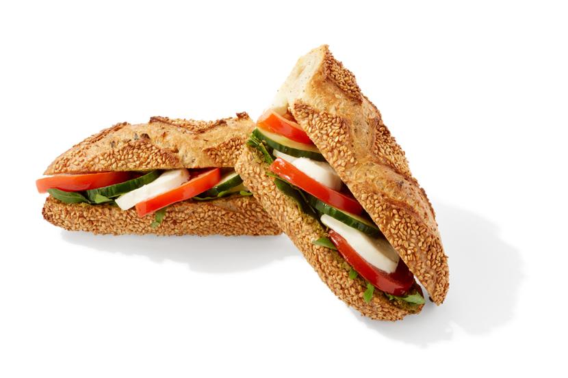 Sandwich Viva Italia; Sandwich des mois de Juillet et Août 2019