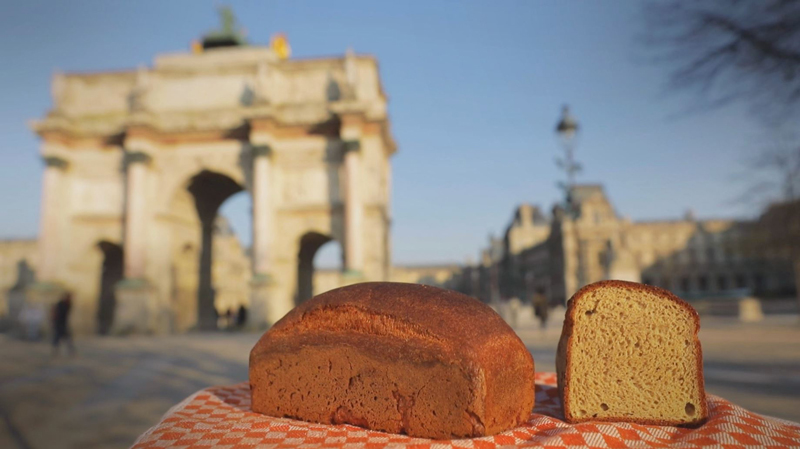 Recette du pain sans gluten au pois chiche de Maison Kayser