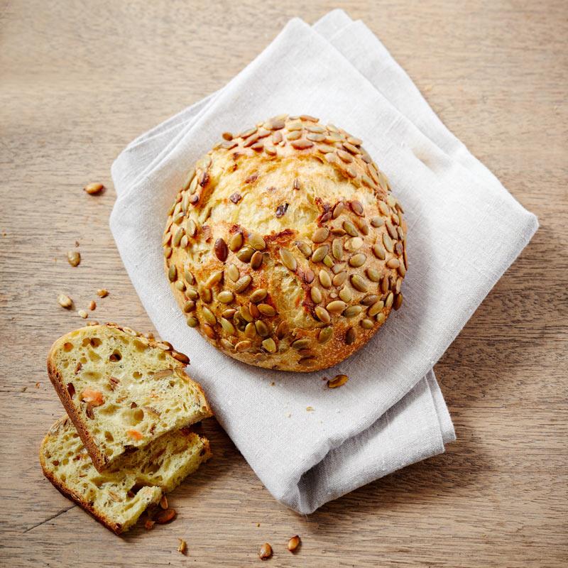 Pain à la patate douce et graines de courge du Mois d'Octobre 2019 Maison Kayser