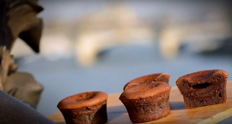 Le fondant au chocolat par Maison Kayser
