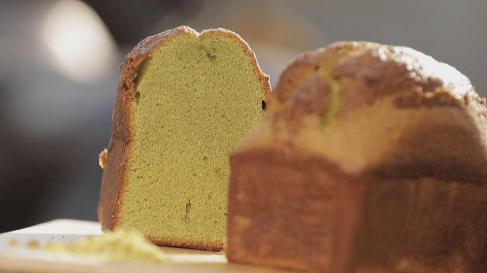 Le cake pistache de Maison Kayser