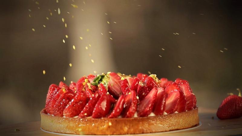La tarte aux fraises des boulangeries Eric Kayser