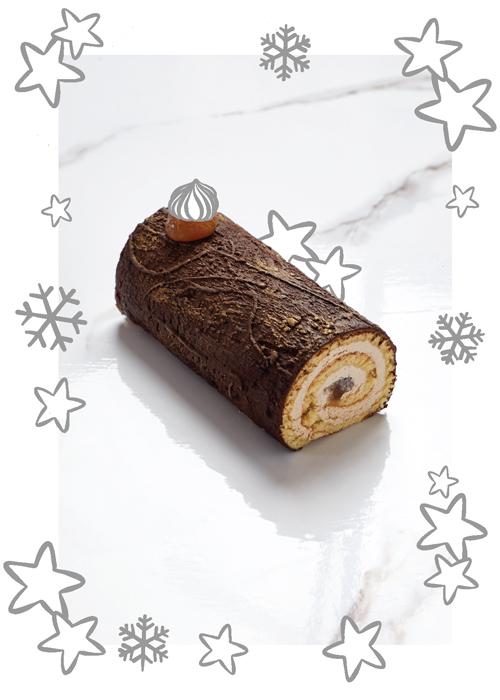 La bûche chocolat de Maison Kayser