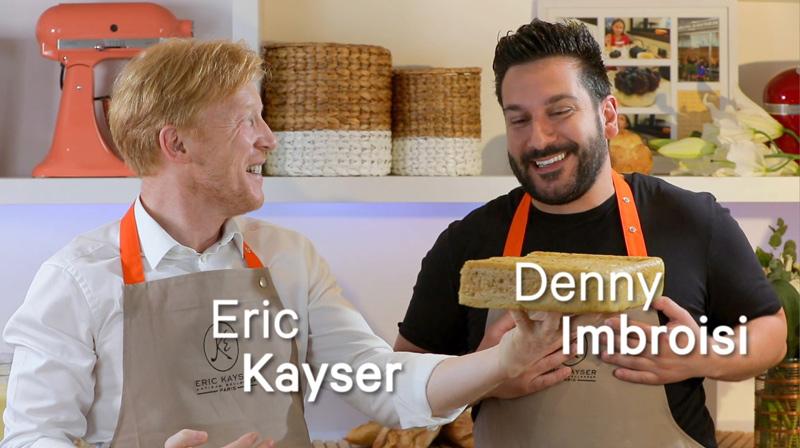 Recette de la focaccia avec Denny Imbroisi et Eric Kayser