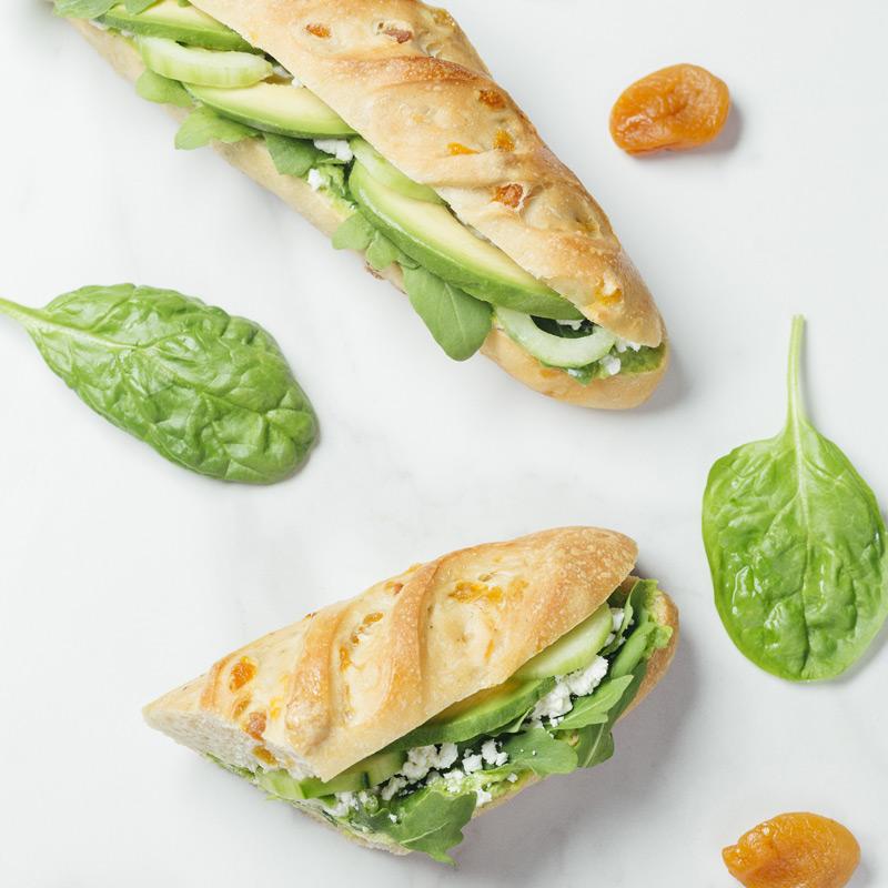 Sandwich mise au vert du mois de juin
