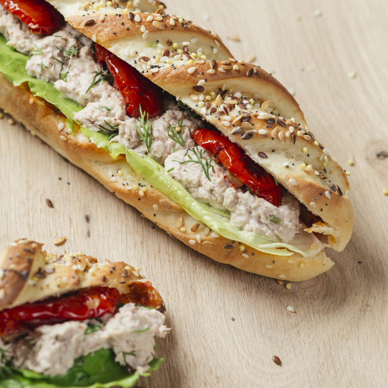 Sandwich Thon pince pour moi